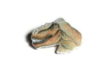 Dinosaur Badge, Tyrannosaurus rex Brooch