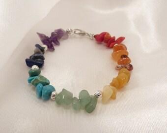 Yoga Jewelry, Yoga Bracelet, Chakra Bracelet, Gift for Her, Chakra Jewelry