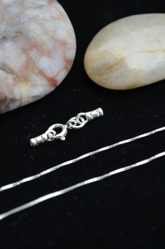 Make Your Own Necklace Set Comes With 0 7mm Box Chain