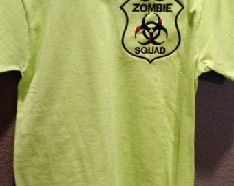 Neon Green Zombie Squad T-Shirt