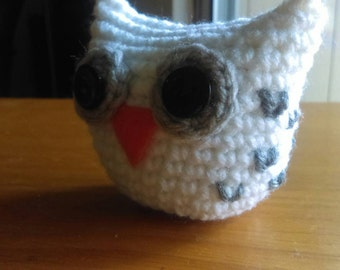 Hedwig Owl Puff - Harry Potter Inspired Crochet