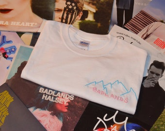 "Halsey ""Badlands"" Embroidered T-shirt"