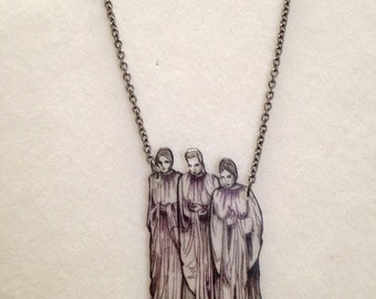 Dracula's Brides Necklace ~ eerie ~ Bela Lugosi ~ horror