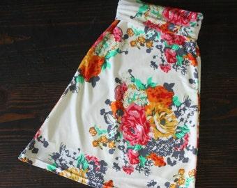SALE - Toddler Maxi Skirt, Garden Party Floral