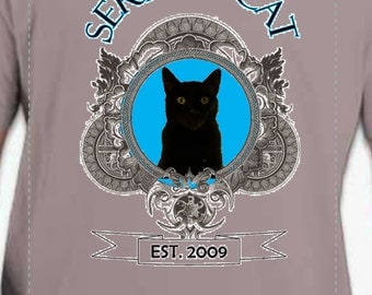 Serious Cat T-Shirt
