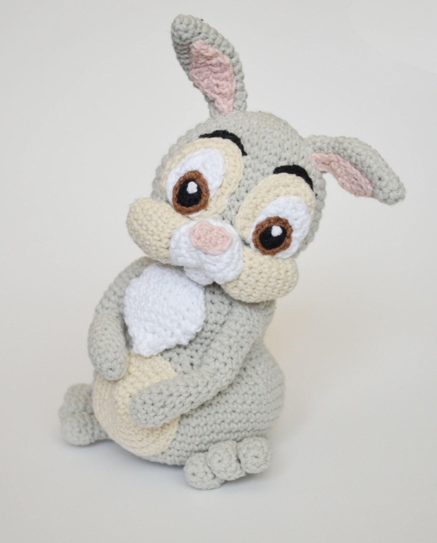 Amigurumi Pointed Ears : Crochet PATTERN Easter Thumper rabbit by Krawka