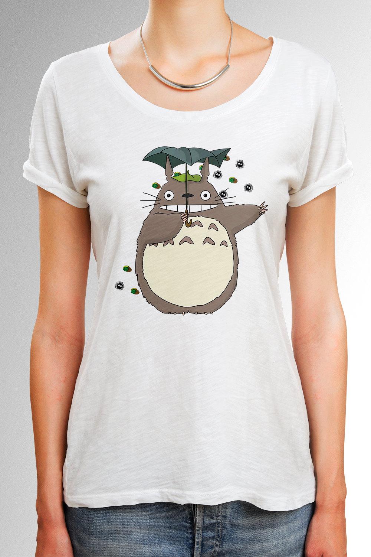 Totoro Shirt My Neighboor Totoro Shirt Anime Shirt by ...
