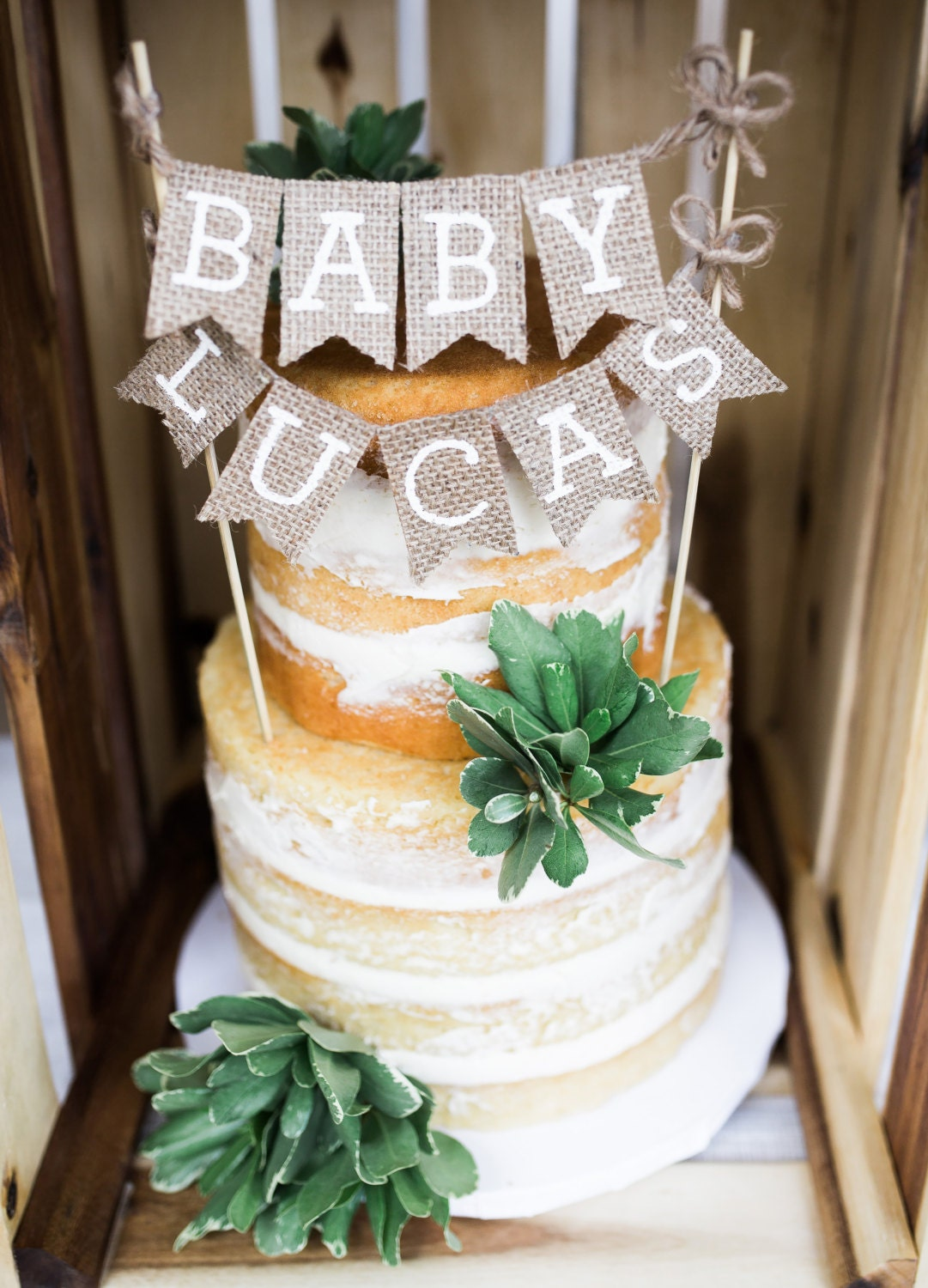 Cake Toppers Baby Shower Etsy : Baby Shower Cake Topper Name Cake Topper Baby Name Cake
