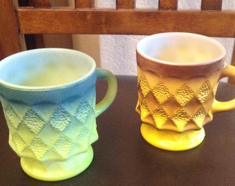 Anchor Hocking Fire King Mugs