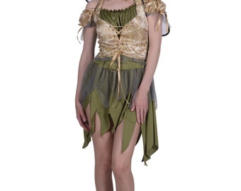 Deluxe Woodland Fairy / Nymph / Tinkerbell inc Wings