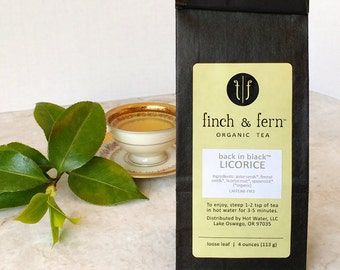 Organic LICORICE Herbal Tea | Loose Leaf | Small (1.5 oz)