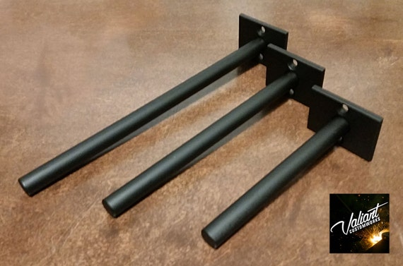 Steel 2 5 Floating Shelf Bracket Pair For 1 5