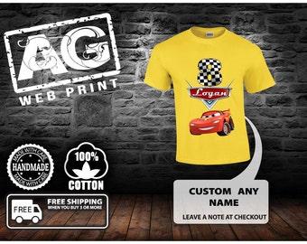 Cars Birthday Shirt - Cars Shirt -