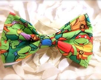 Ninja Turtles- Hair bows- Bows