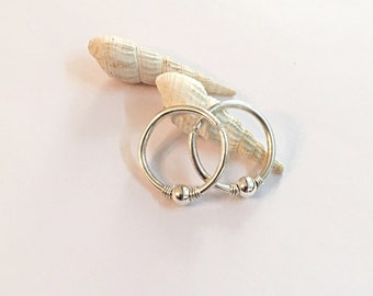 14g nipple rings silver, nipple jewelry, nipple piercing ring, nipple hoops, nipple jewelry ring, nipple piercing hoops, hoops for nipple