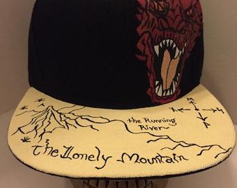 The Hobbit Smuag the Dragon Snapback Hat