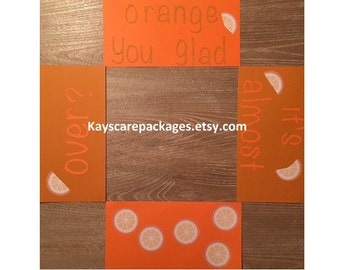 CLEARANCE Orange you Glad