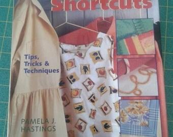 Sewing shortcuts book, tips & tricks by Pamela Hastings