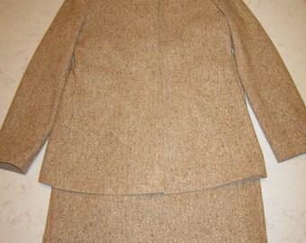 Wool Tweed Suit