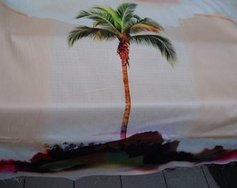Cool cotton JERSEY palms (498941)