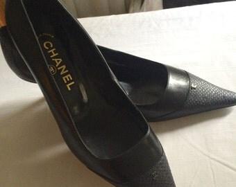 Chanel Heels Size 38