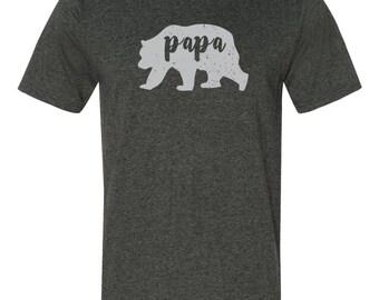 Papa Bear Shirt - Dad Shirt, Family Bear Shirt, Dad Life