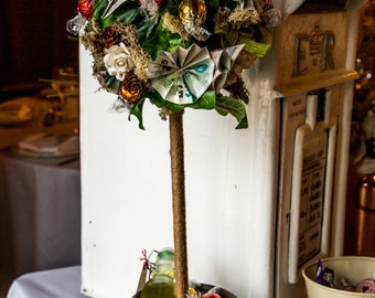 Handmade Money Tree for Weddings including Origami Money