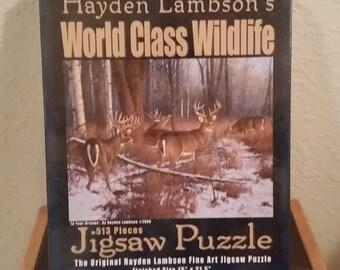 Hayden lambson's wildlife jigsaw puzzle