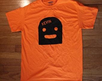Orange/Black Small Kevin Shirt