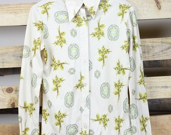 70s Fitted Printed Shirt