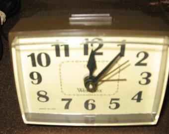 free shipping panasonic vintage clock radio model rc6115. Black Bedroom Furniture Sets. Home Design Ideas