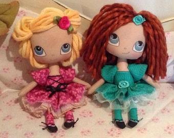 Plush Fairy Dolls