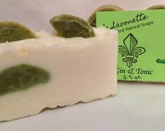 All-natural Gin & Tonic Soap