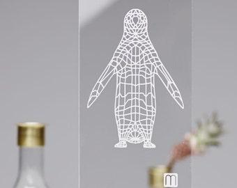"Plexiglass Image ""Pingvin No1 lille"""