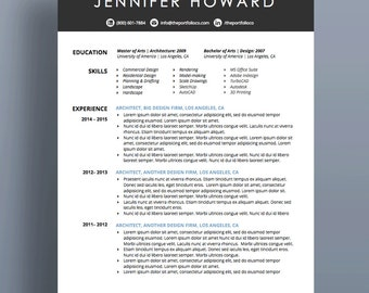 Creative Resume Template | CV + Cover Letter | Modern, Functional Resume  Designs | Mac