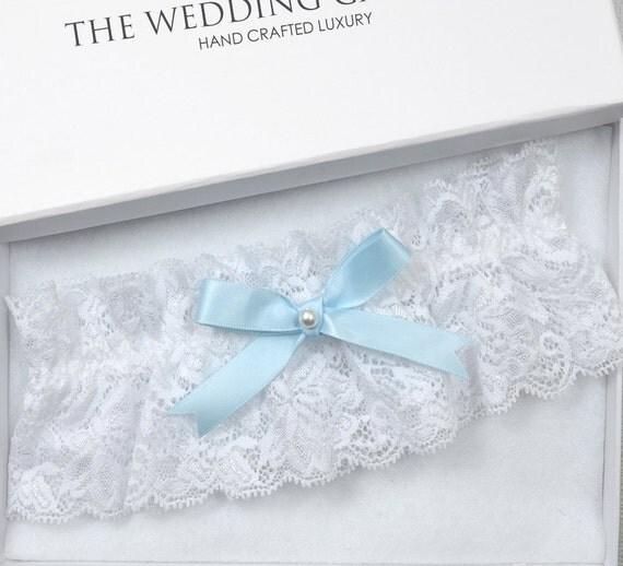 White Wedding Garter: Items Similar To Wedding Garter, Bridal Garter, White
