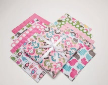 "SALE PRICE -10""x10"" Cuddle Cakes  Zoologie Fuchsia Minky - 20 pieces from Shannon Fabrics, Great Price!!"