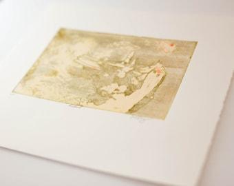 Monoprint Etching