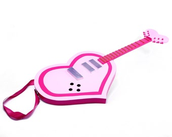 Show by Rock anime, Cyan's Strawberry Heart Guitar, Cosplay sized replica prop, Hijirikawa Cyan, anime, video game