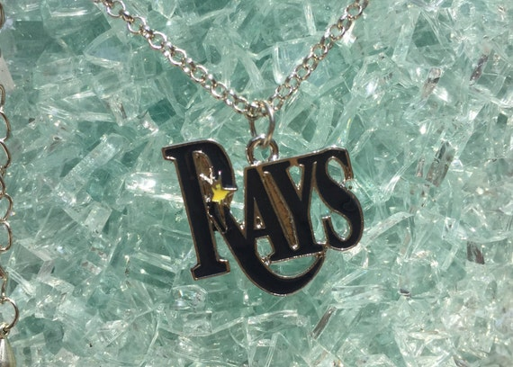 Tampa Bay Rays Silver Necklace and Pendant