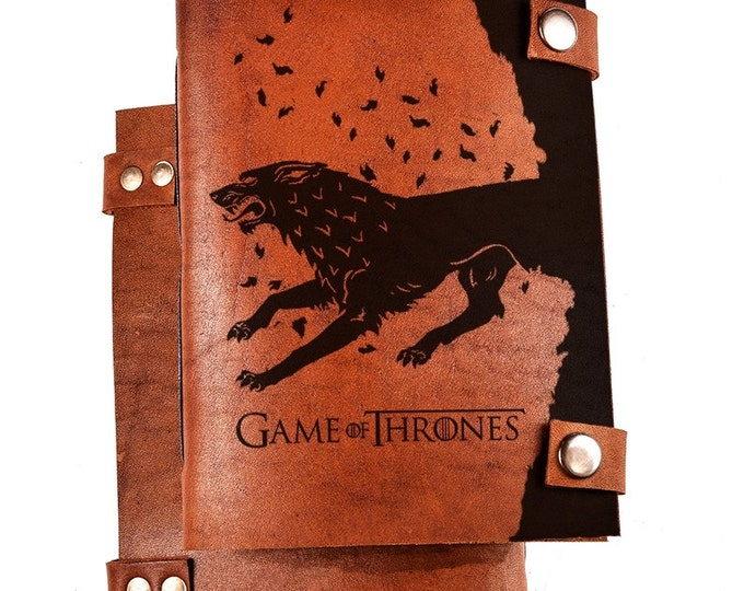 Game of Thrones notebook - Game of Thrones journal - Game of Thrones sketchbook - Game of Thrones gift - Personalized journal