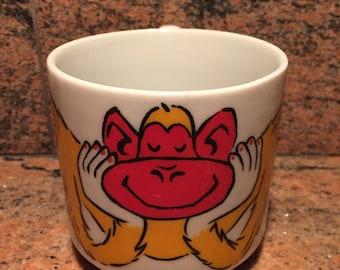 Vintage Monkey Coffee Mug