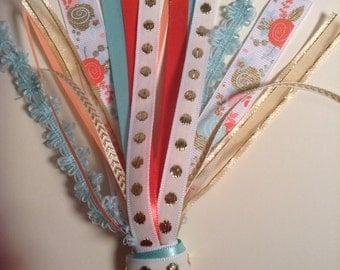 Jumbo paperclip ribbon tassel for your planner