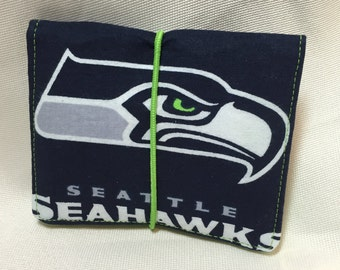 Seattle Seahawk Credit Card Holder/Business Card Wallet