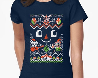 Animal Crossing Toy Day ugly sweater tee