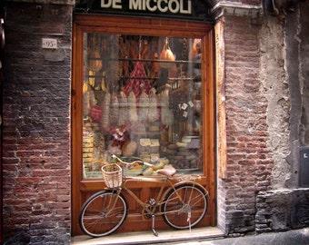 Salumeria, Siena, Italy, 8x10 in 11x14 Matte