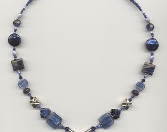 Sodalite and Kyanite NECKLACE 312