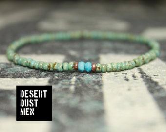 Jewelry for Him - Men's Beaded Bracelet Love - Men's Bead Bracelets, Mens gift for him Husband Gift , Mens Seed Bead