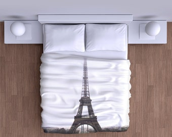 Eiffel Tower Duvet Cover - Super Soft Duvet