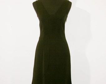 Vintage Moschnio Jeans Black dress - size 42 / us 8